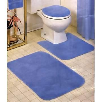 Bathroom 4pc Mat Set Bathroom Mats